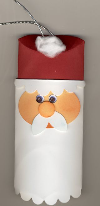 Pillow box santa