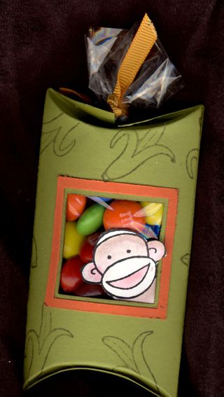 Monkey pillow box