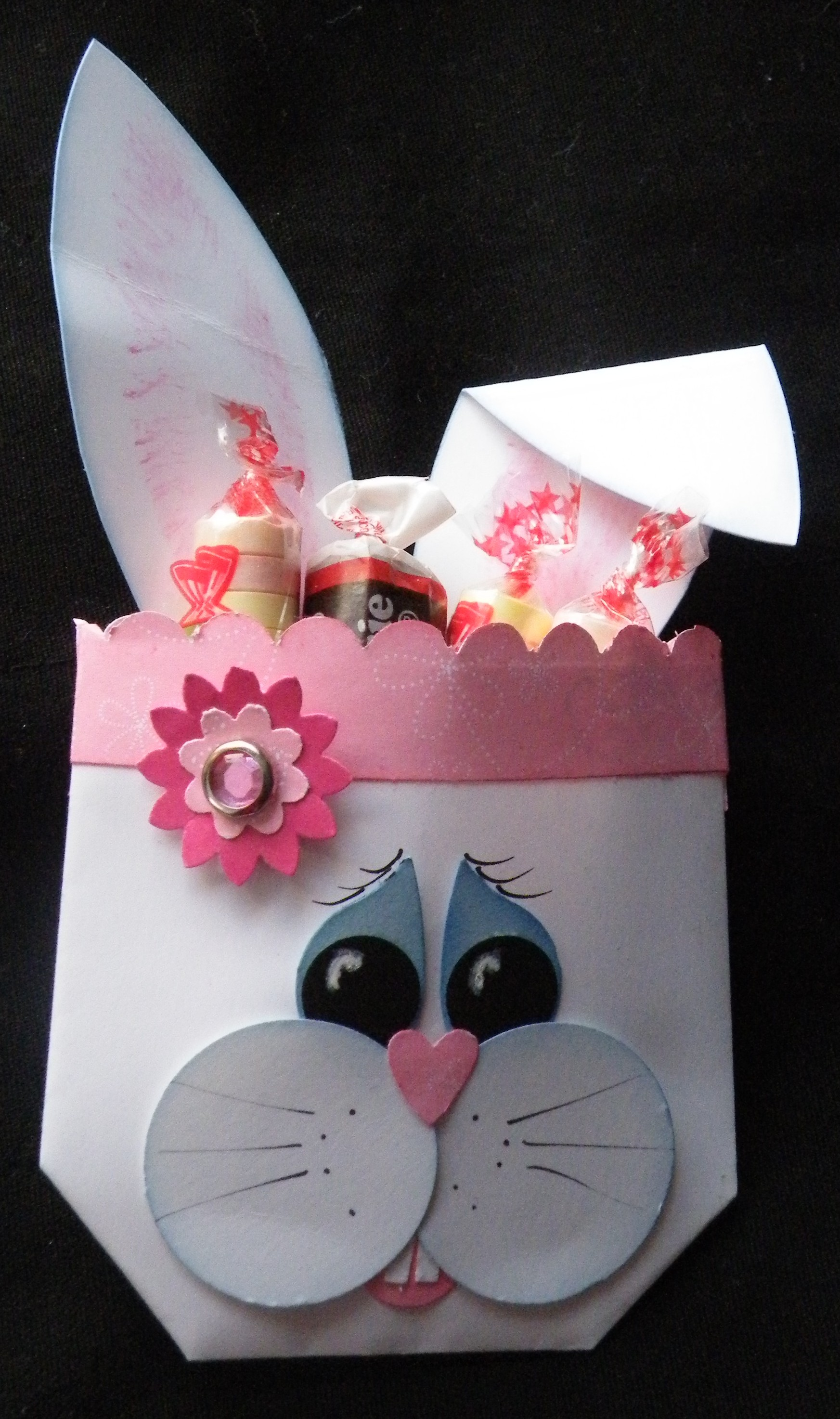 Addicted to Stamping: Bunny Envelope