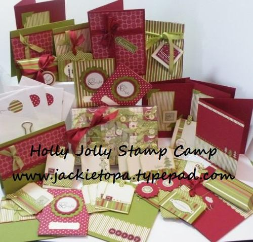 Holly Jolly Stamp Camp