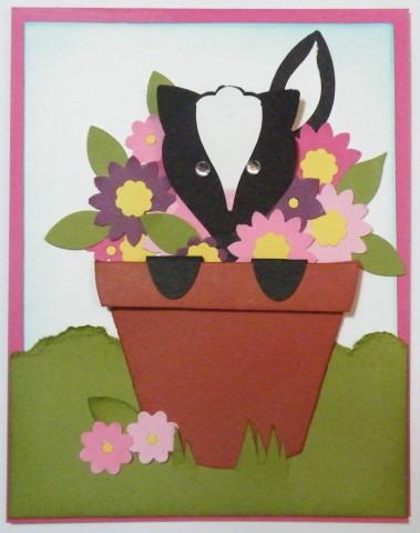Build a Blossom Skunk