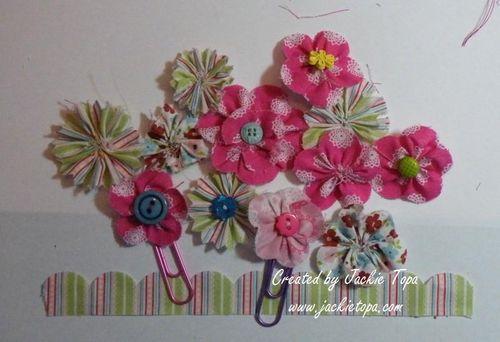 Tasteful Trim Flowers