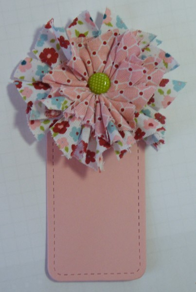 SAB Flower Bookmark