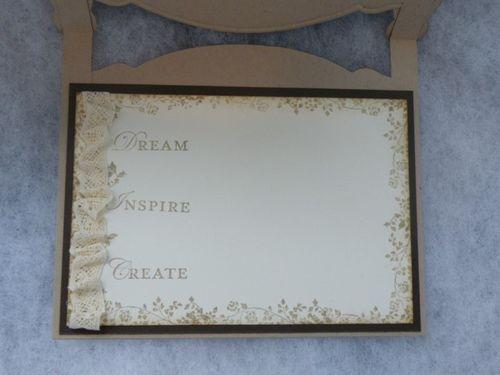 Bed Card (inside)