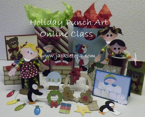 Holiday Punch Art