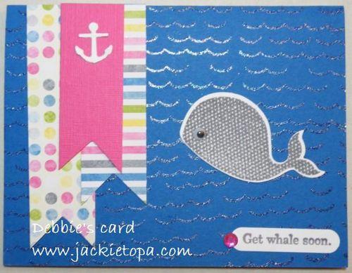 Debbie's SAS card