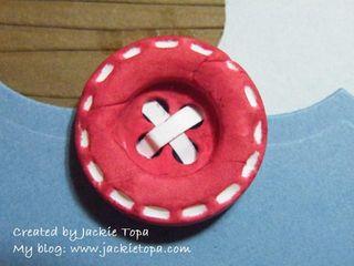 Birthday Boat Button