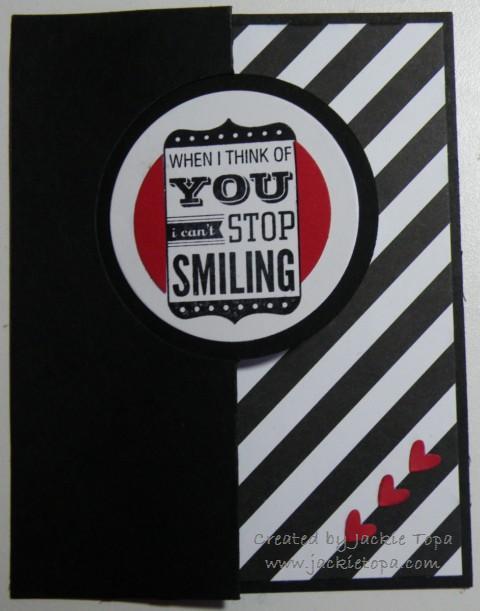 Smile Flip Card