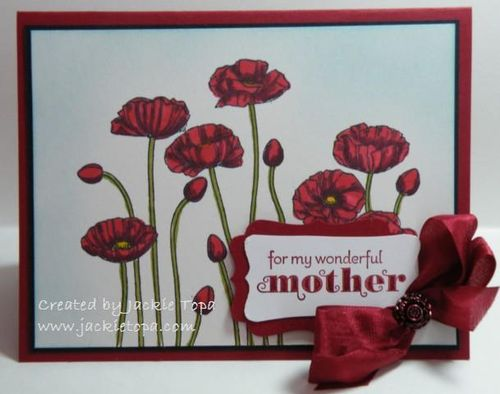 Mother's Day Poppies