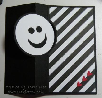 Smile Flip Card (open)