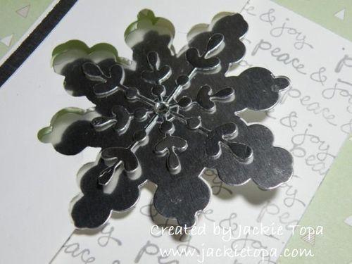Snowflake Flip Card (3)
