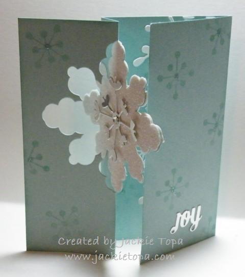 Snowflake Flip Card (2)