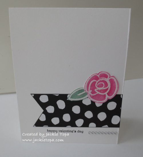 Polka dot Rose