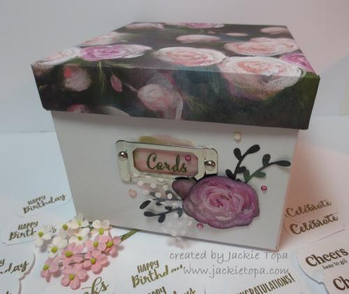 Mom's Card Box